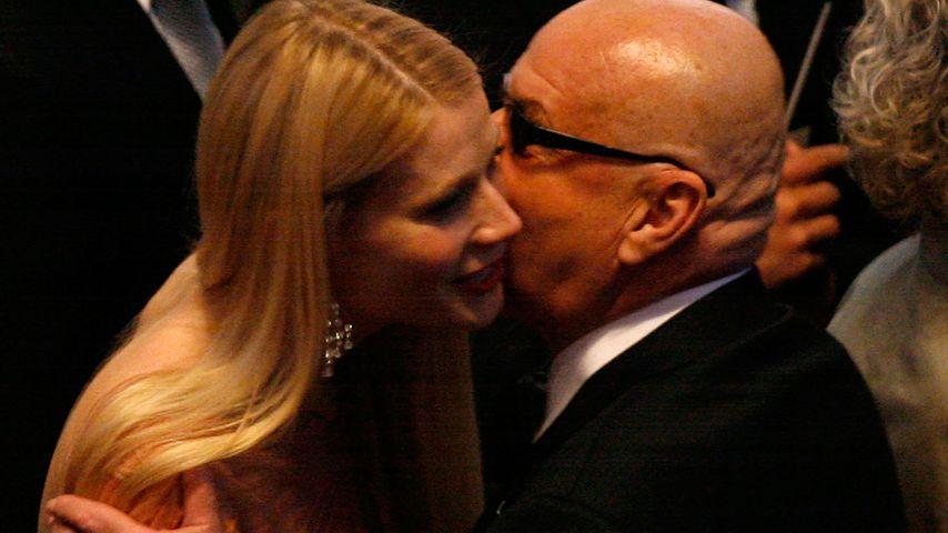 Gwyneth Paltrow und Jack Nicholson bei den Oscars 2007