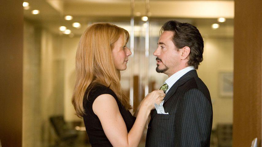 """Gwyneth Paltrow und Robert Downey Jr. in """"Iron Man"""""""