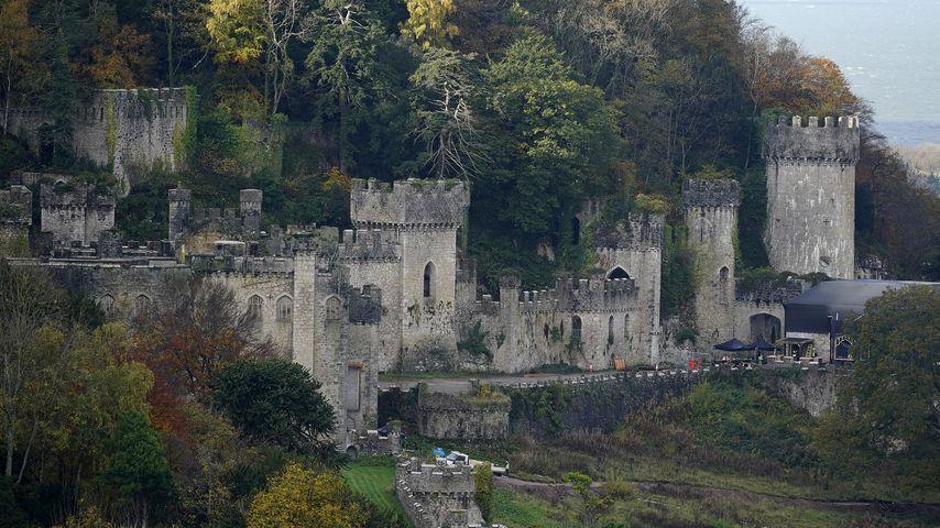 "Gwyrch Castle, Drehort von ""I'm a Celebrity Get Me Out of Here"""