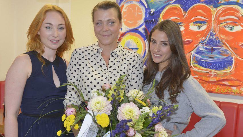 Nadine Menz, Ramona Dempsey und Anna Juliana Jaenner