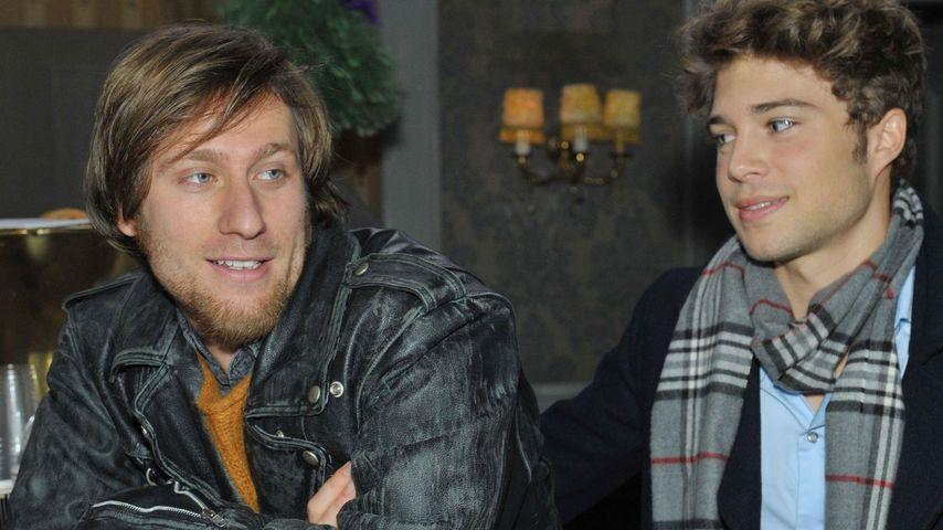 Merlin Leonhardt und Jascha Rust bei GZSZ