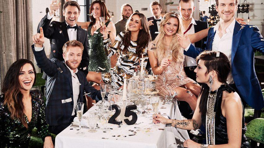 GZSZ-Cast zum 25-jährigen Jubiläum der Serie