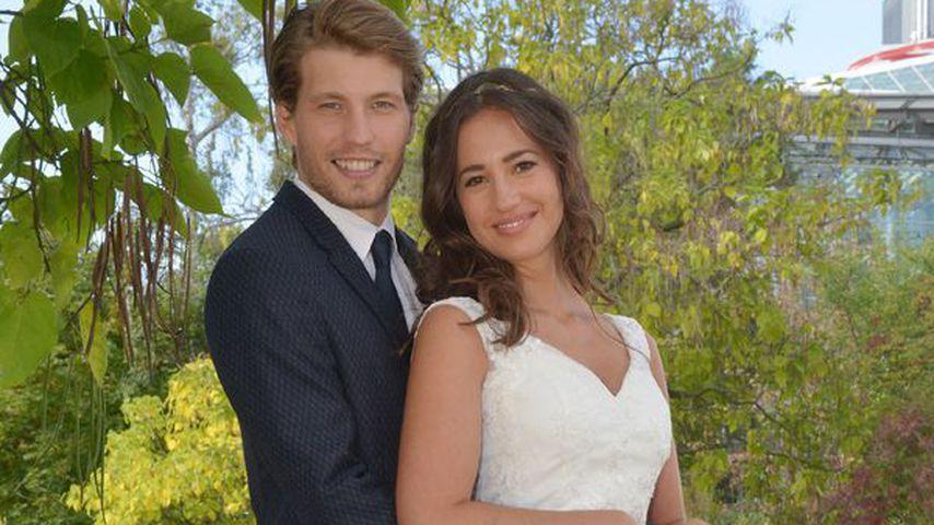 Raúl Richter und Elena Garcia Gerlach am GZSZ-Set