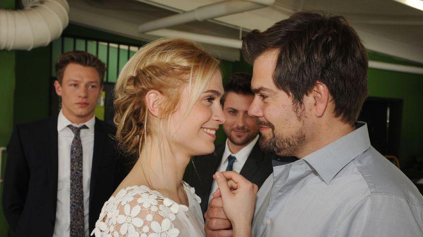 1. Fotos der GZSZ-Hochzeit: Sie heiraten im Knast!