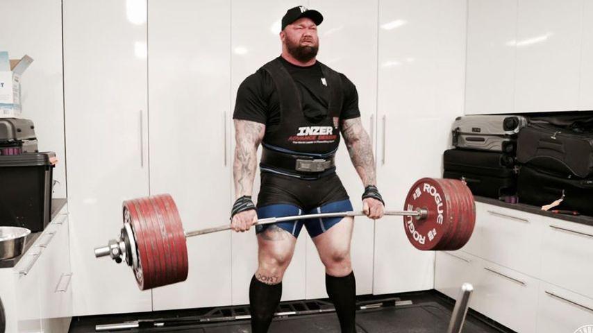 Hafthor Julius Björnsson hebt 470 kg