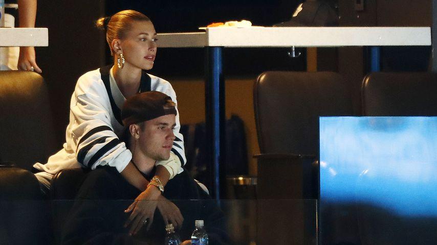 Nicht schwanger: Justin und Hailey Bieber räumen Gerücht auf
