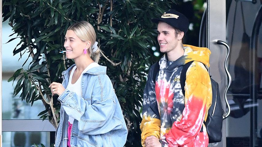 Hailey und Justin Bieber in Miami