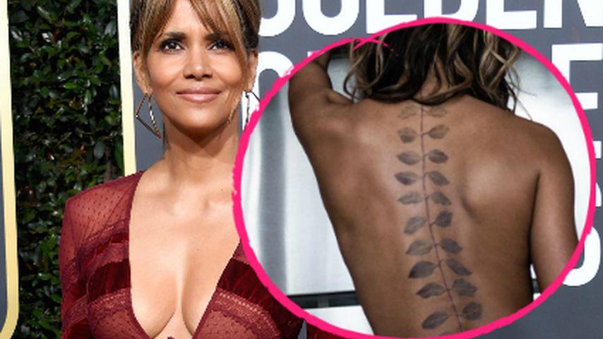Ist das echt? Halle Berry zeigt im Netz ihr neues XXL-Tattoo