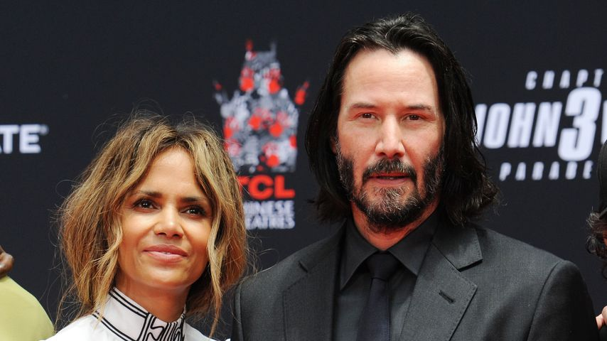 Halle Berry und Keanu Reeves in Hollywood, Mai 2019