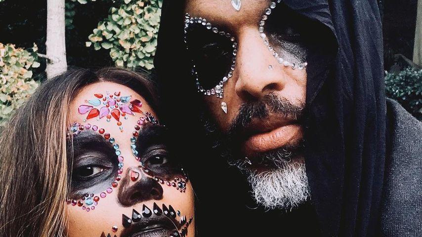 Halle Berry und Van Hunt an Halloween 2020