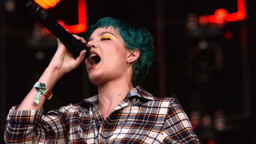 Halsey auf dem Bonnaroo Festival 2016