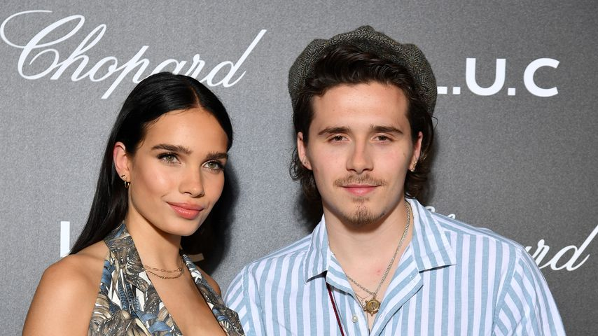 Hana Cross und Brooklyn Beckham im Mai 2019 in Cannes