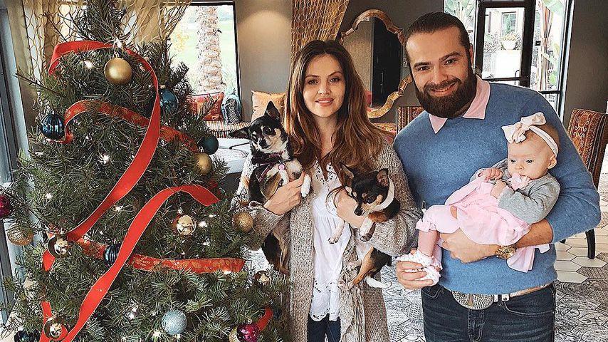 Hana Nitsche, Chris Welch und ihre gemeinsame Tochter