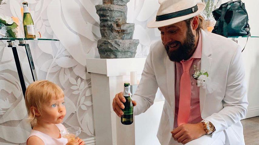 Hana Nitsches Tochter Aliya und Chris Welch, Juni 2020