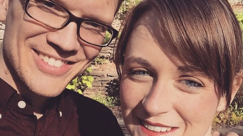 Hank Green mit seiner Frau Katherine
