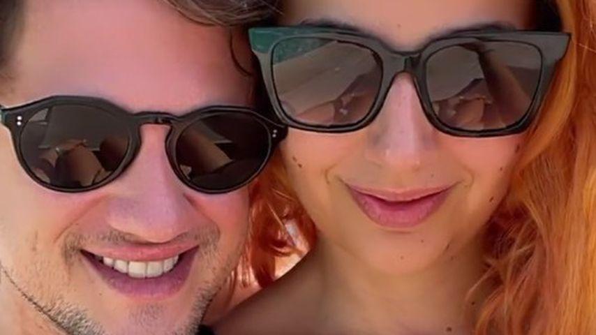Hannah Kerschbaumer mit ihrem Freund Chris