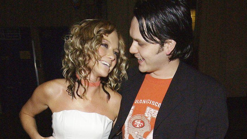 Hannah Spearritt und Paul Cattermole im März 2004