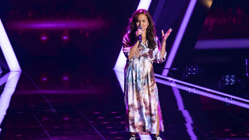"Hannah Wilhelm bei der Blind Audition von ""The Voice of Germany"" 2020"