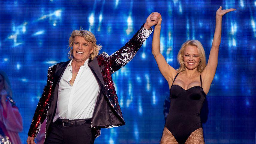 Hans Klok und Pamela Anderson