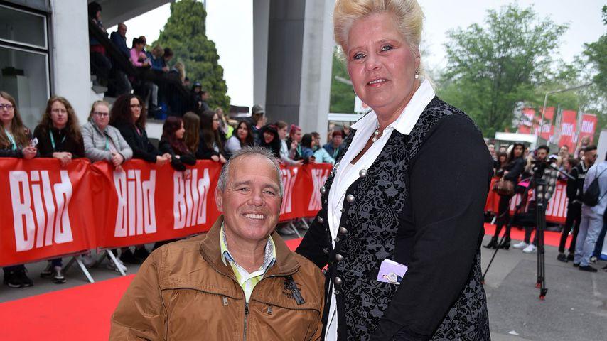 Harald Elsenbast und Silvia Wollny beim Bild-Renntag 2019