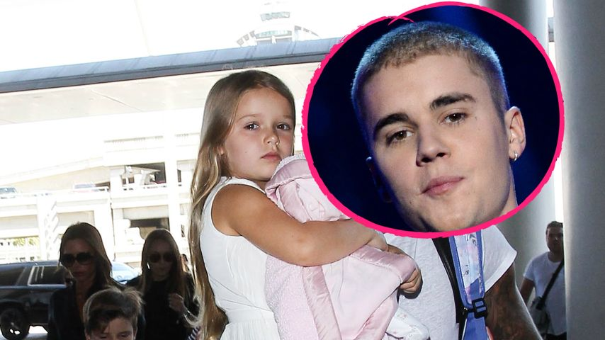 Wie süß: Harper Seven Beckham total im Bieber-Fieber!