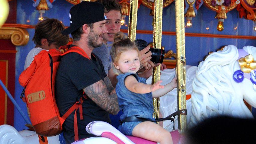 Familien-Ausflug: Die Beckhams besuchen Disneyland