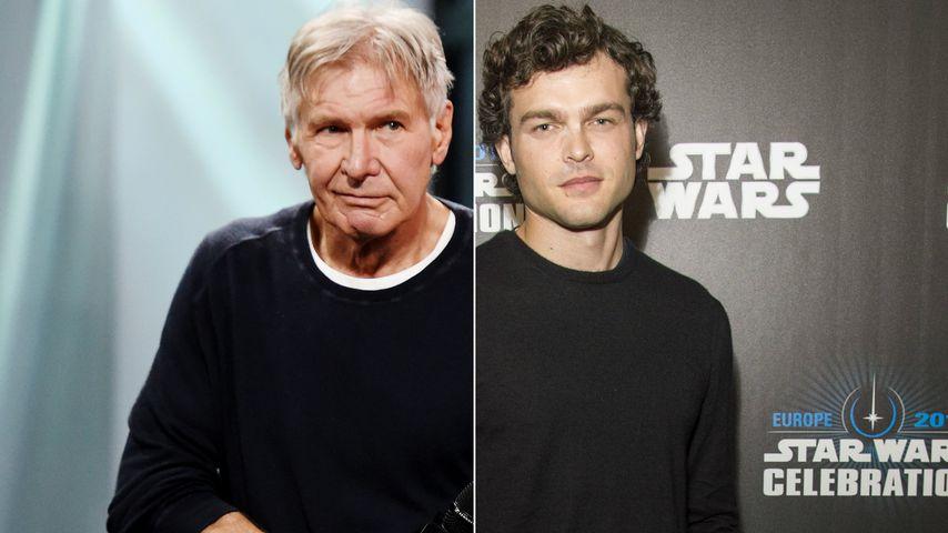 Set-Lehrmeister: Harrison Ford coachte Han Solo-Nachfolger!
