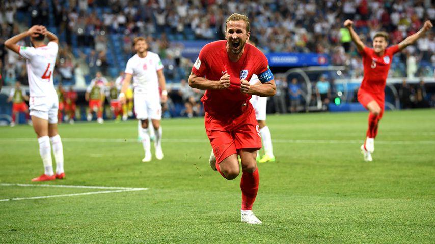 Harry Kane nach seinem Siegtor gegen Tunesien