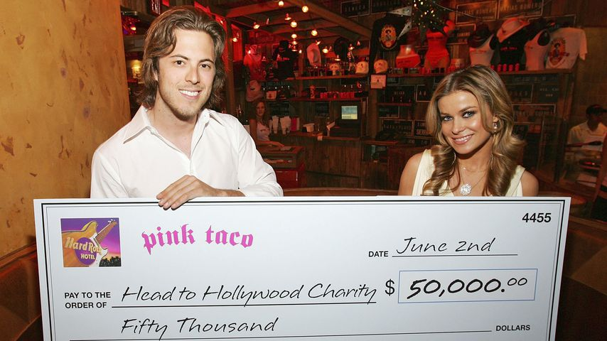 Harry Morton und Carmen Electra in Las Vegas, 2006