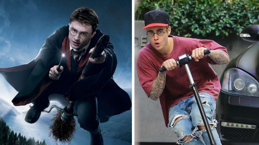 Harry Potter & Justin Bieber: Bei der Geburt getrennt?