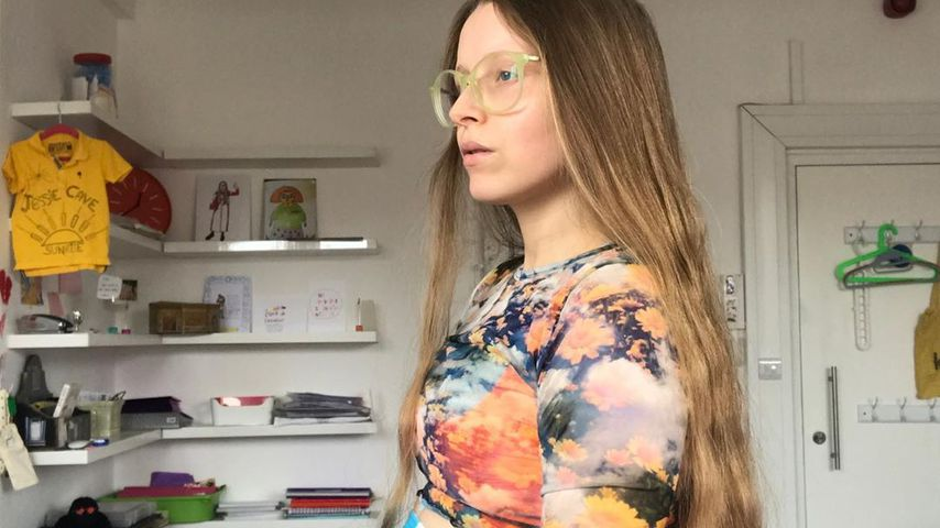 """Harry Potter""-Darstellerin Jessie Cave"