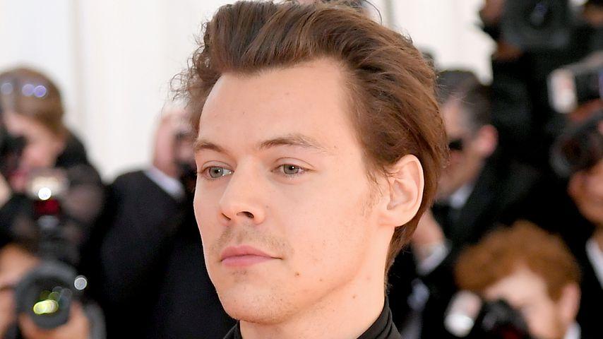 Drogen-Pilze: Harry Styles biss sich ein Stück Zunge ab!