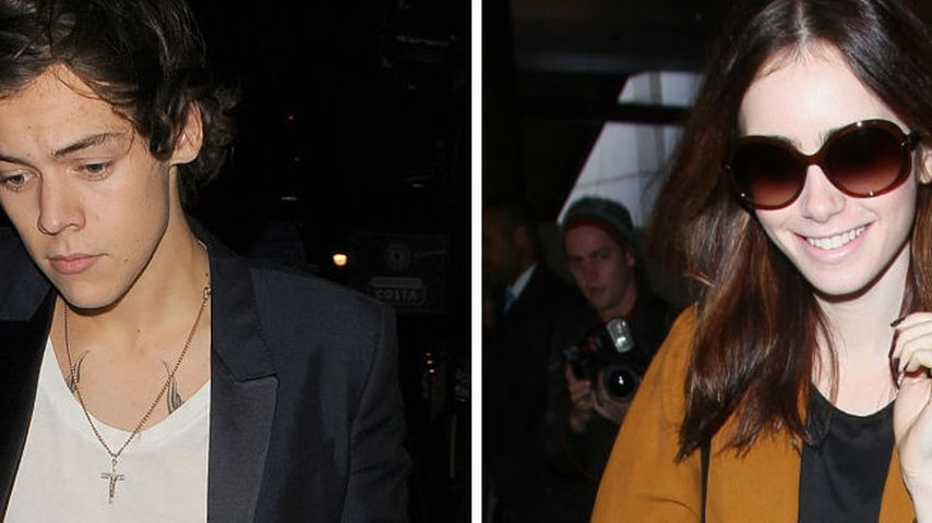 "Harry Styles & Lily Collins als ""Romeo &  Julia""?"