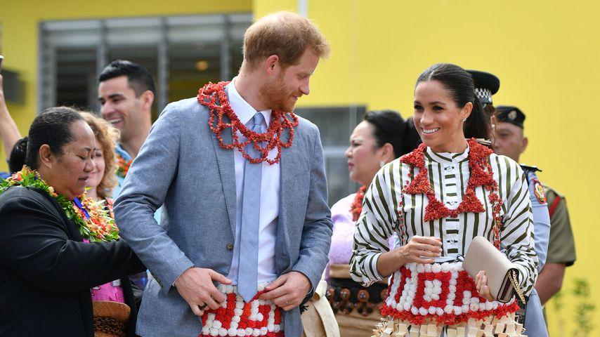 Prinz Harry und Herzogin Meghan in Tonga
