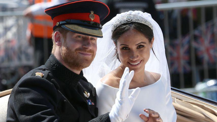 Erste Worte als Ehemann: Prinz Harry rührt Gäste mit Rede