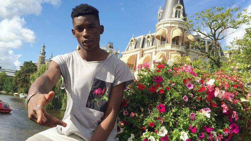 Harry Uzoka in Amsterdam, Niederlande