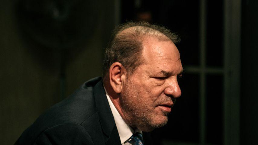 Harvey Weinstein am 24. Februar 2020