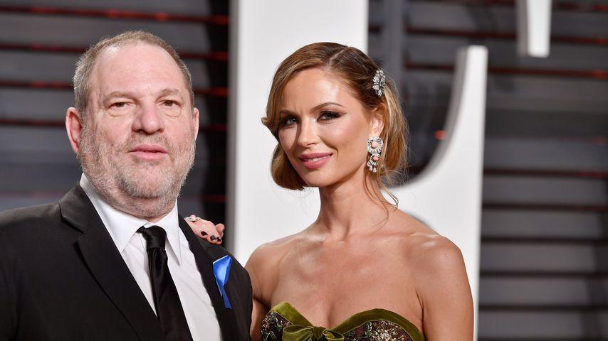 Harvey Weinstein und Georgina Chapman bei der Vanity Fair Oscar Party 2017