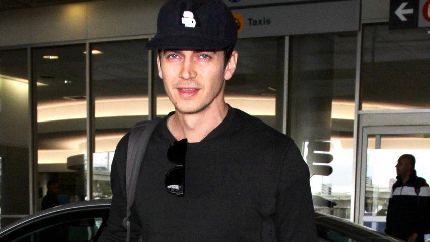 Hayden Christensen am Flughafen in LA im Dezember 2016