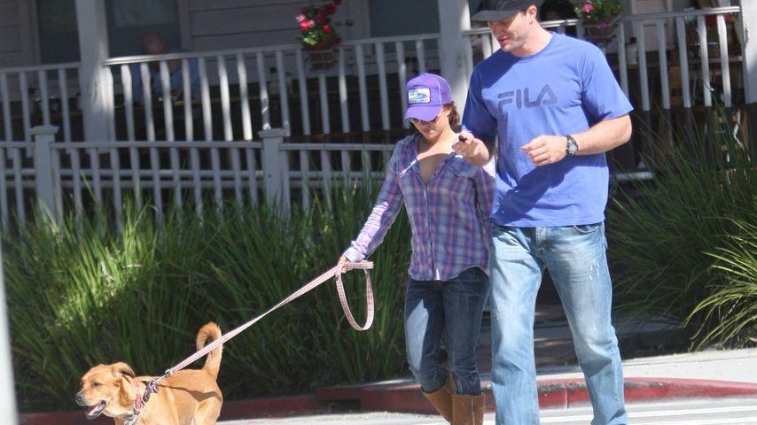 Hayden Panettiere und Wladimir Klitschko beim Spaziergang