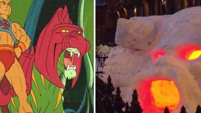 He-Man ist zurück: Sein Schloss prangt im Schnee