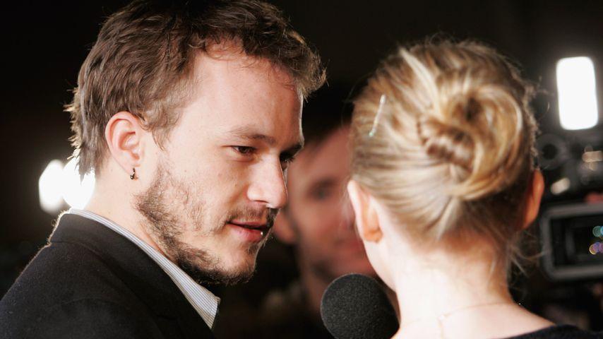 Schauspieler Heath Ledger und Schauspielerin Michelle Williams