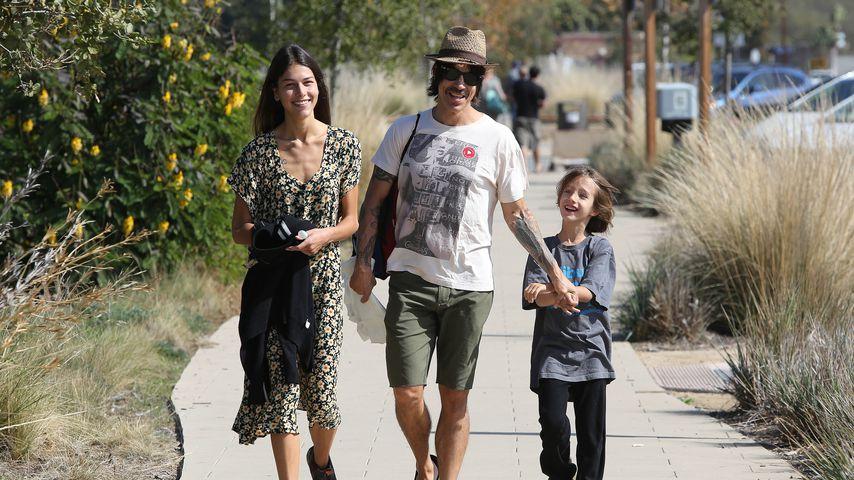 Anthony Kiedis: Ex-Frau soll Sohn (10) geschlagen haben!