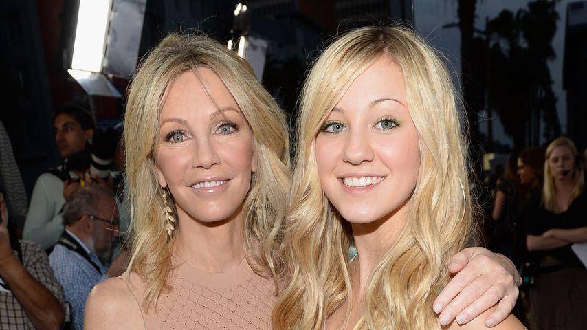 Heather Locklear mit ihrer Tochter Ava