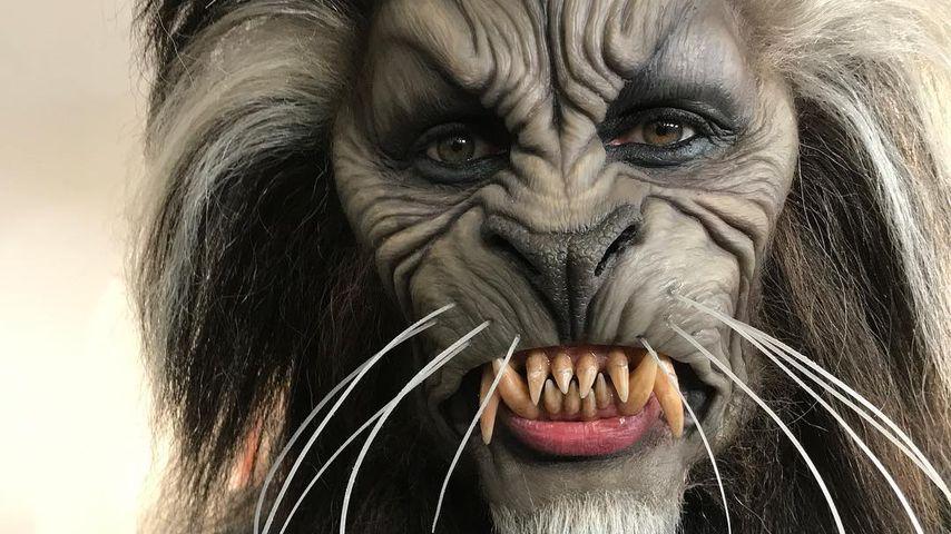 Halloween-Queen: Heidi Klum überrascht als Grusel-Werwolf!