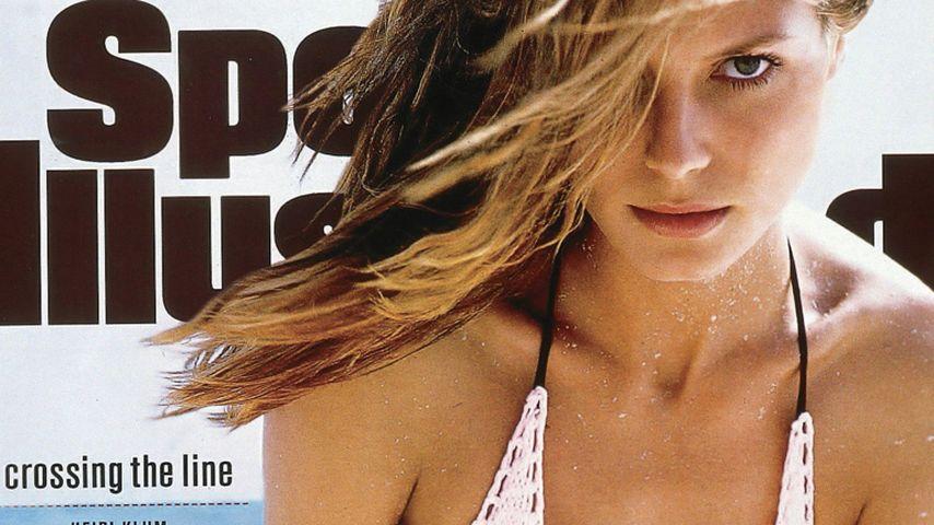"""Heidi Klum auf dem """"Sports Illustrated""""-Cover 1998"""