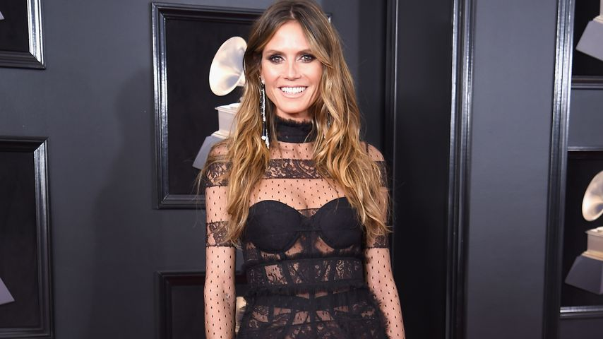 Heidi Klum bei der Grammy Verleihung 2018