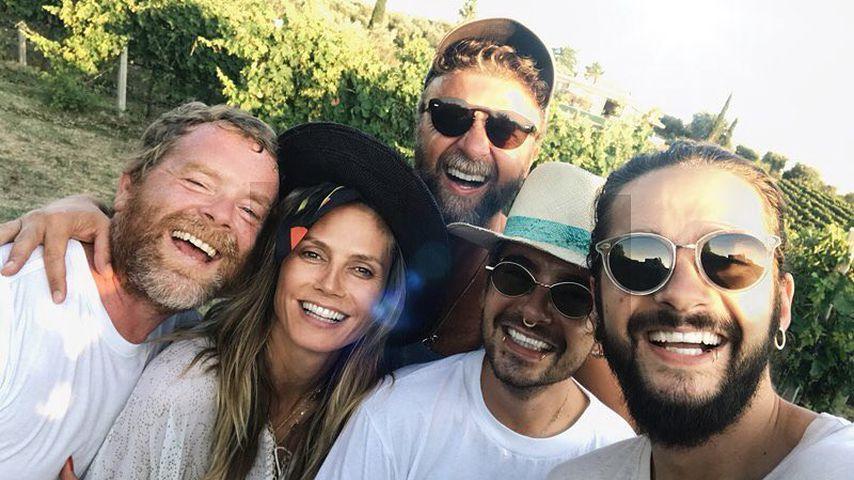 Heidi Klum total verknallt in Tom – und Bill ist immer dabei