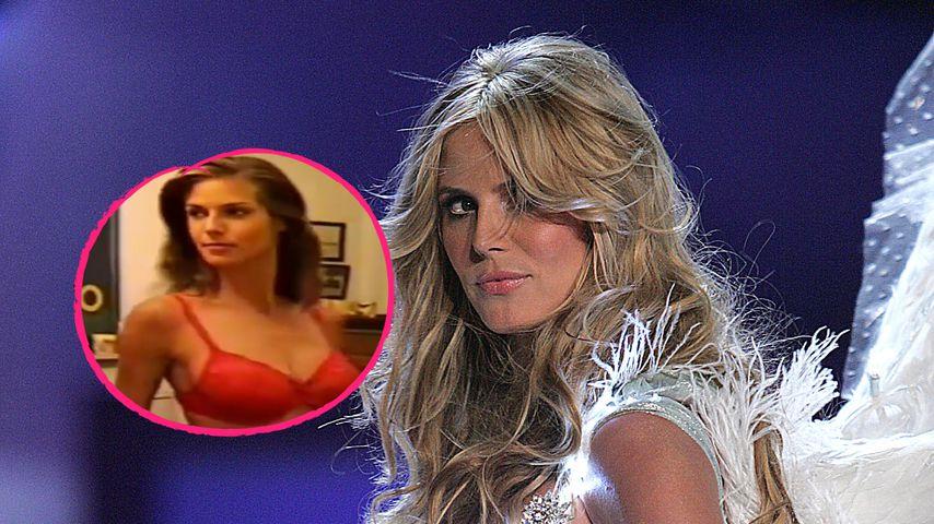 Throwback-Clip: Hier übte Heidi Klum für Victoria's Secret