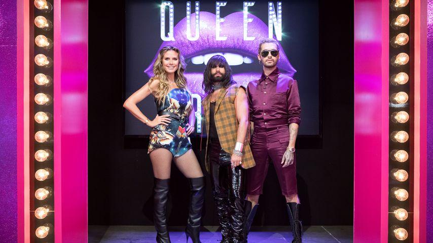 """Heidi Klum, Conchita Wurst und Bill Kaulitz bei """"Queen of Drags"""""""